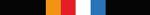 Layher, oranje, rood, wit en blauw