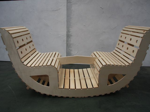 Schommel In Huis : Schommel stoel voor vier personen upside down