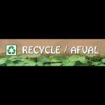opzethek recycle afval