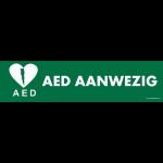 opzethek AED aanwezig