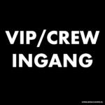 signing 100 x 100 vip crew ingang