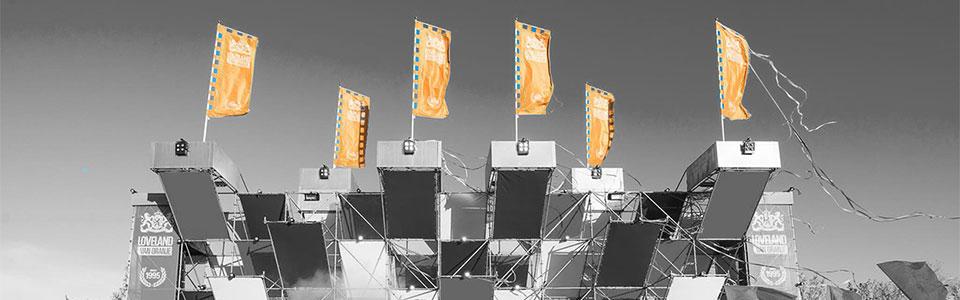 gepersonaliseerde podium vlaggen